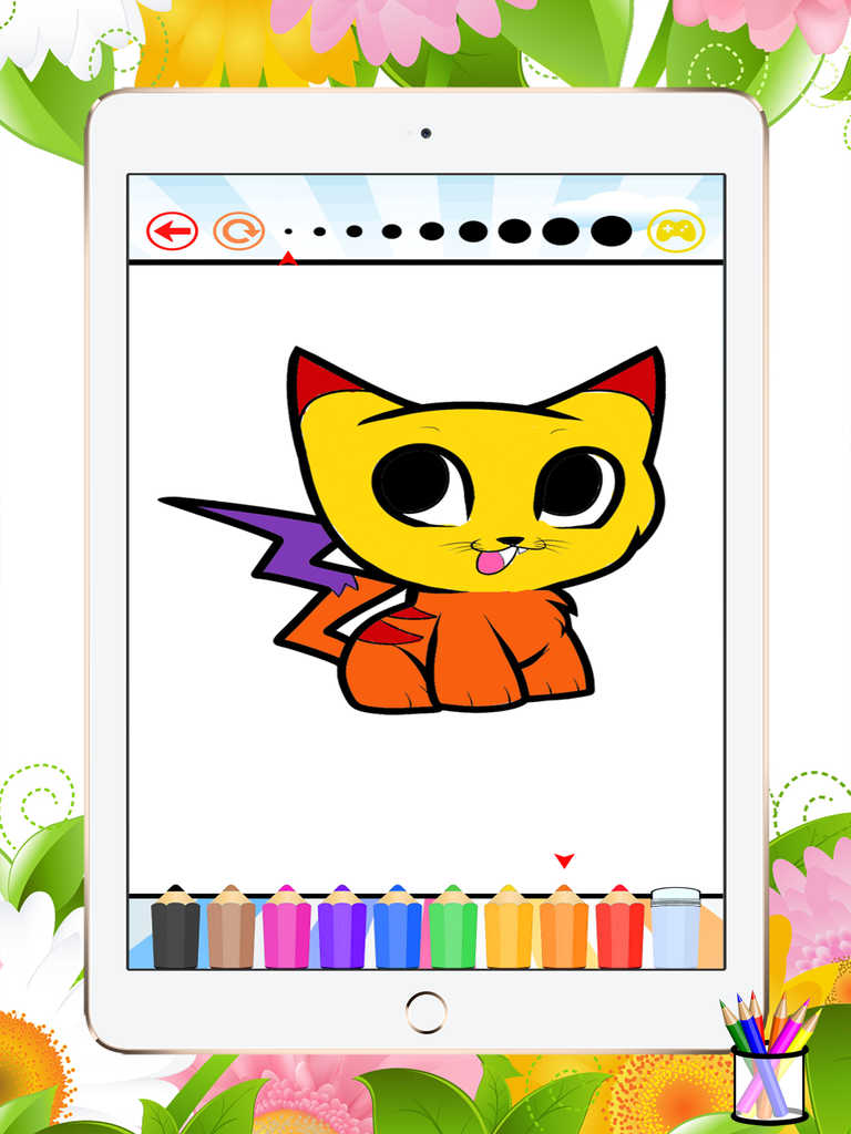 App Shopper: Cat&Dog Coloring Book-Learn Drawing and ...