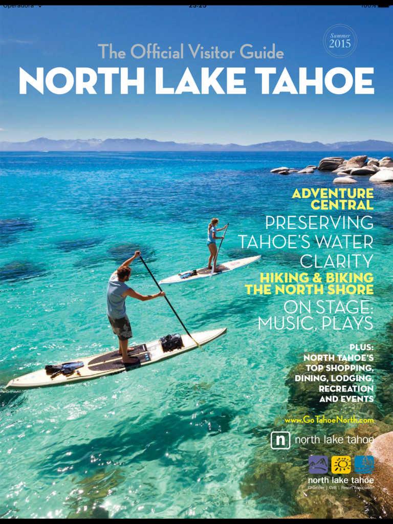 Lake Tahoe Summer Getaway: App Shopper: North Lake Tahoe Vacation Planner (Newsstand