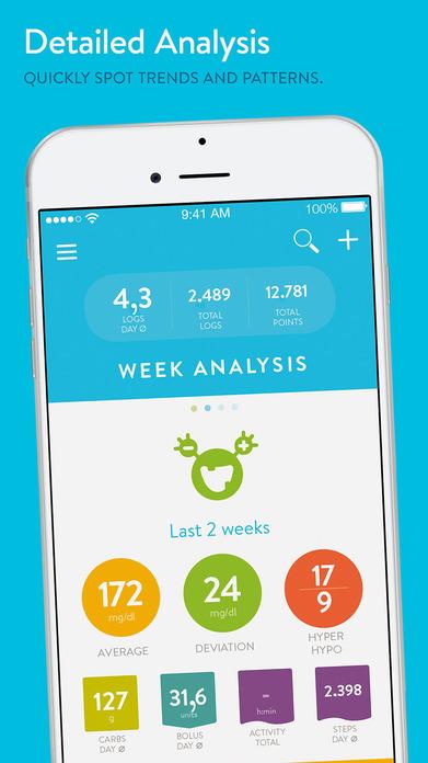 mySugr: Easy to use daily diabetes diary Screenshot