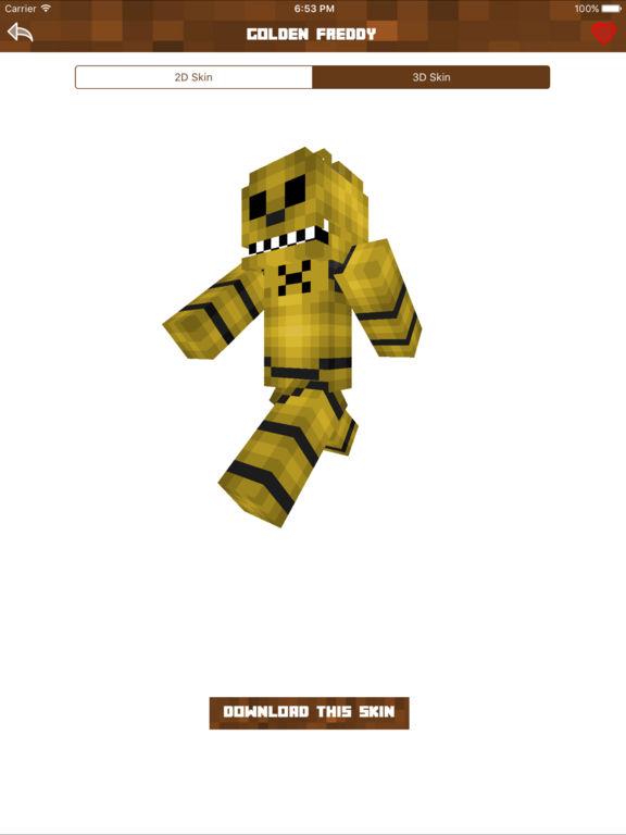 FNAF Skins - Cute Skins for Minecraft PE & PC - AppRecs