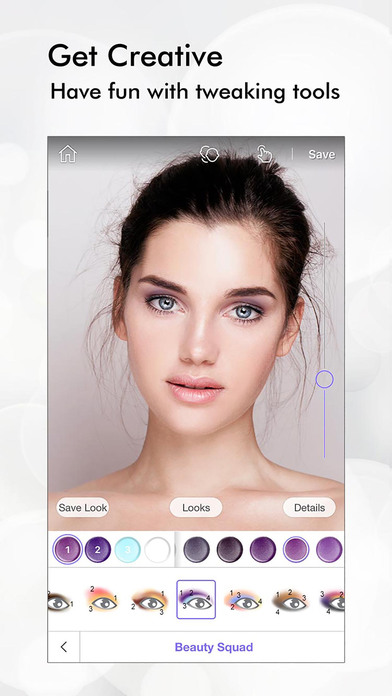 Perfect365 - Custom makeup designs and beauty tips Screenshot
