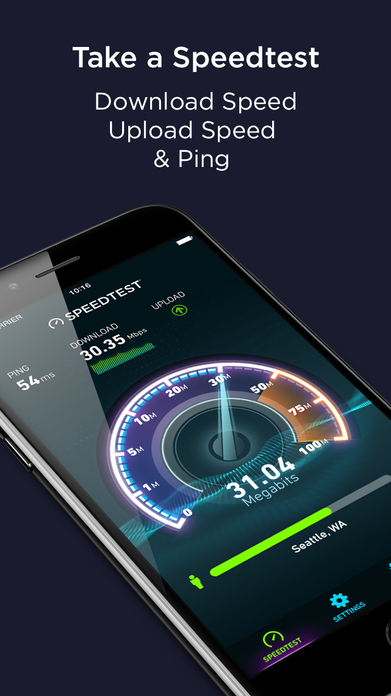 Speedtest by Ookla Screenshot