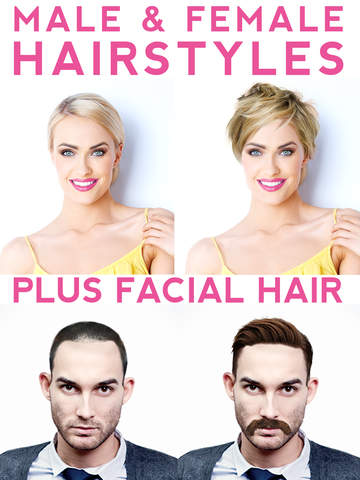Incredible Hairstyle Makeover Try On Hairstyles Beards And Mustaches On Short Hairstyles Gunalazisus