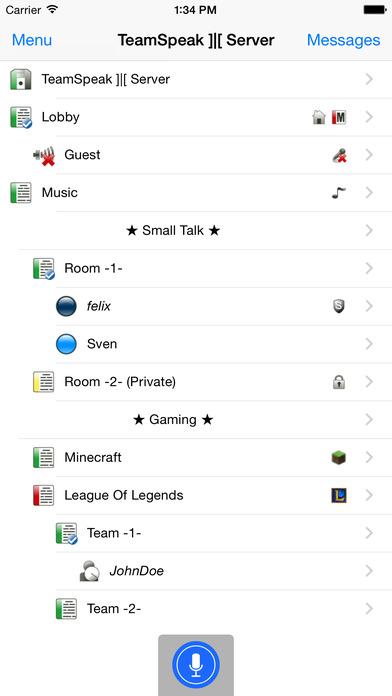 TeamSpeak 3 | App Report on Mobile Action