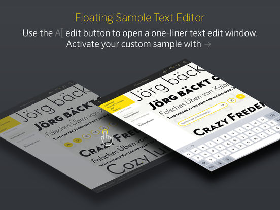 FontBook™ – The Original Typeface Compendium, est. 1989 Screenshot