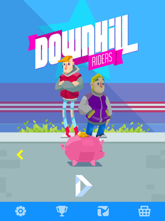Downhill Riders Screenshot