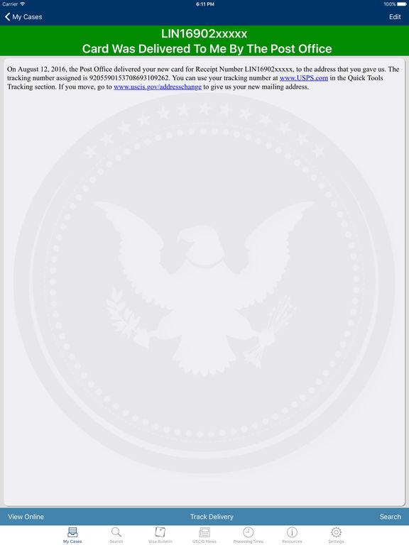 USCIS Case Tracker & Searcher - appPicker