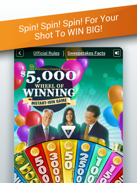 has anyone won pch app instant win games