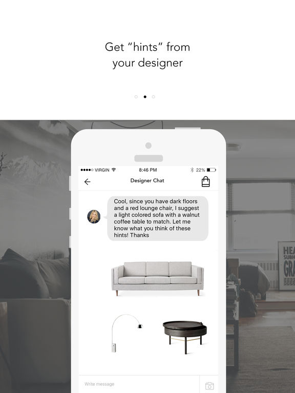 Home Design Ideas App: Roomhints Interior Design Ideas Screenshot
