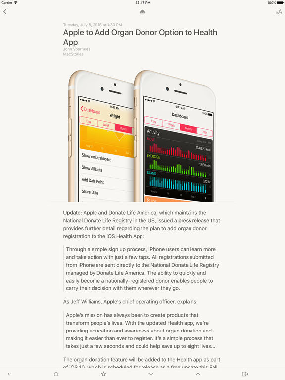 Reeder 3 Screenshot