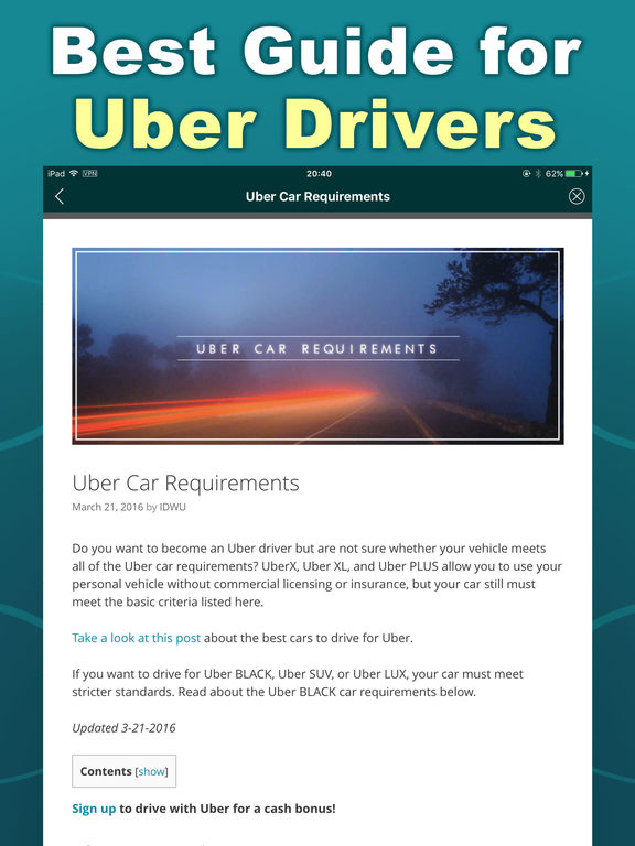 partner driver uber