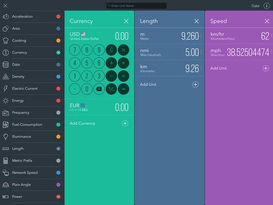 Fancy Units & Currency Converter Offline - Plus! Screenshots
