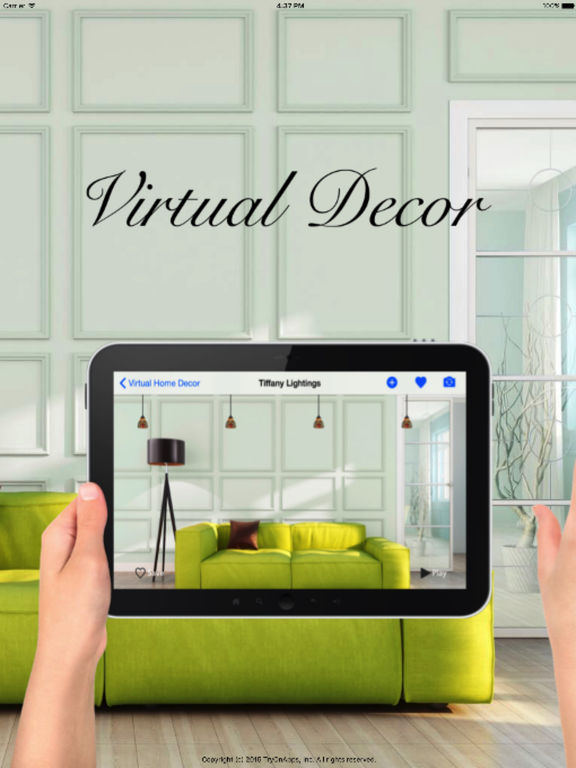 Virtual Interior Design Home Decoration Tool Screenshot