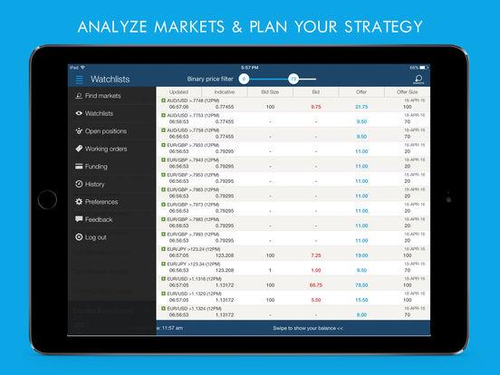 Binary options ipad app