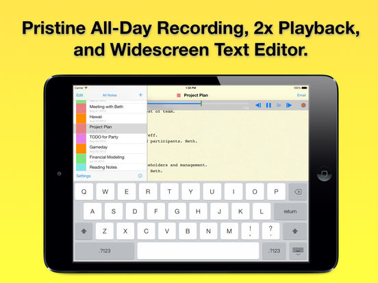 The best voice recorder apps for iPad - appPicker