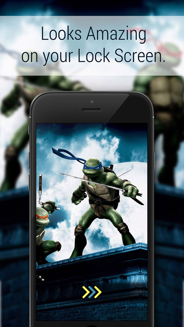 Hd Wallpapers And Lock Screen Teenage Mutant Ninja Turtles Tmnt Edition Apppicker