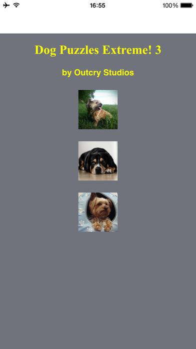 Dog Puzzles Extreme! 3 Screenshot on iOS