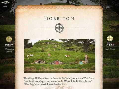 The Hobbit: Official Visual Companion Screenshot