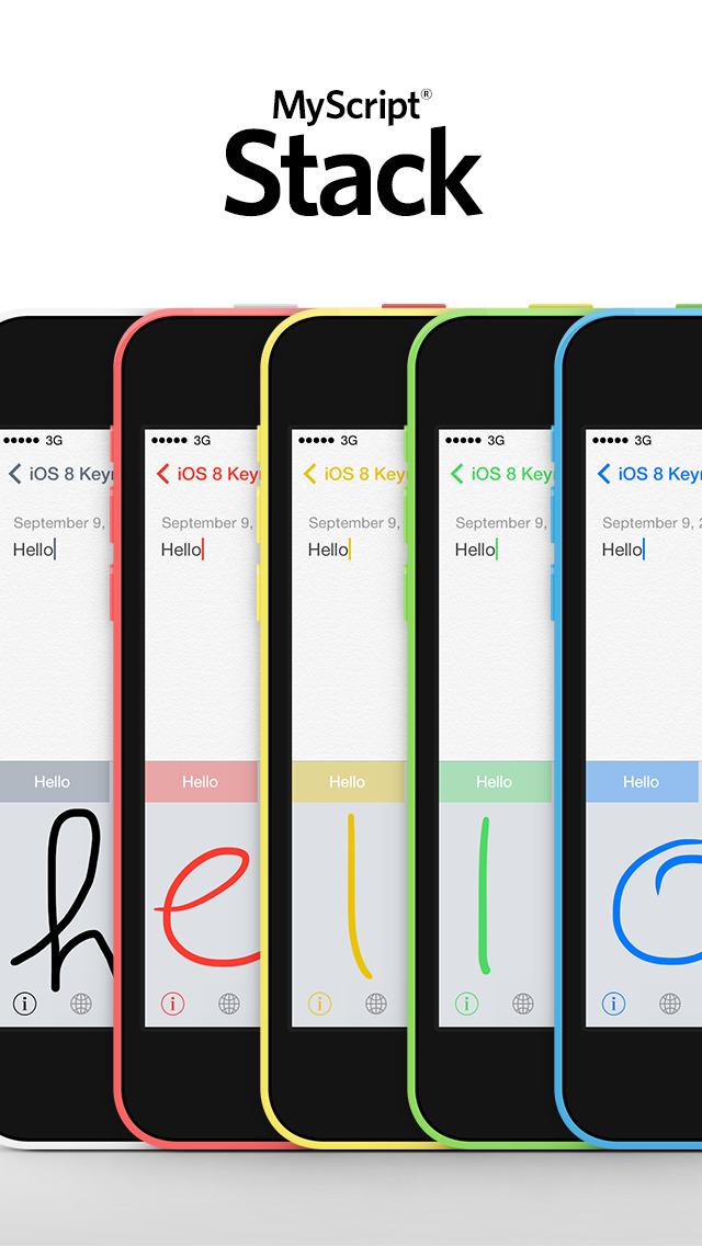 handwriting app ios 7