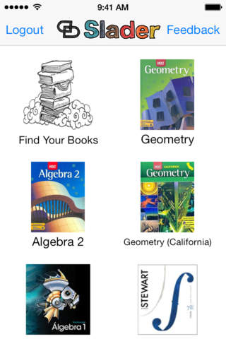 slader geometry homework book