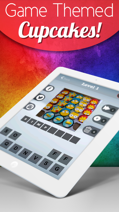 Games by Cupcake Trivia - Creative Pastry Picture Pop Quiz Screenshot on iOS