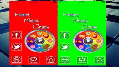 Heart Match Crash Screenshot on iOS