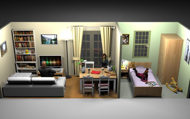 Sweet Home 3D Screenshot. Sweet Home 3D 5 4 1