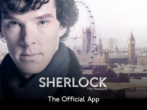 Sherlock: The Network HD. Official App of the hit TV detective series Screenshot
