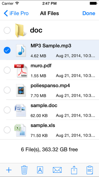 iFile Pro - File Manager & File Viewer & HTTP File Sharing & Ftp