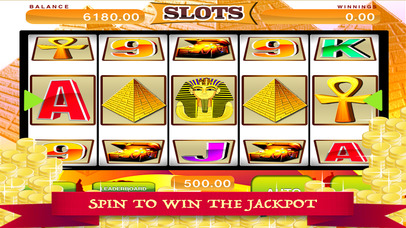 A Aces Pharaoh's Slots Screenshot on iOS