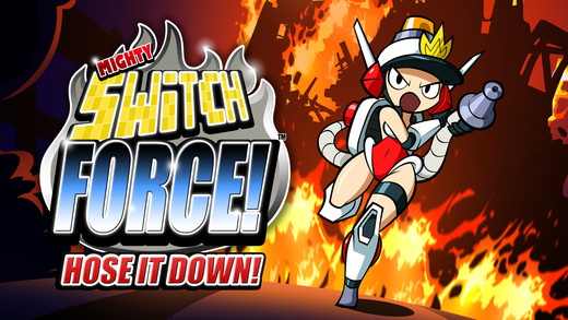 Mighty Switch Force! Hose It Down! Screenshot