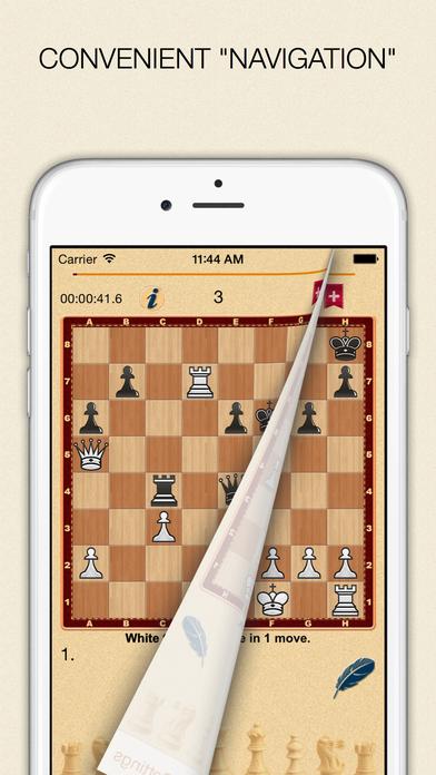 Mate in 1? OK! Screenshot on iOS