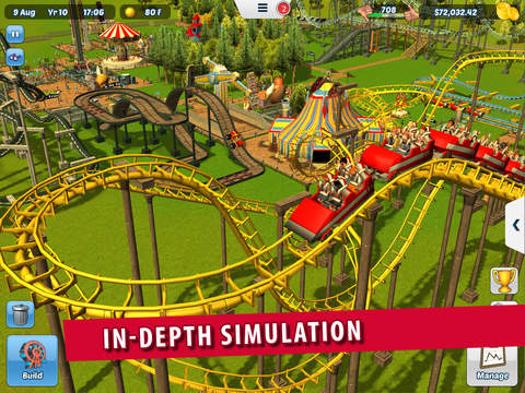 RollerCoaster Tycoon® 3 IPA Cracked for iOS Free Download