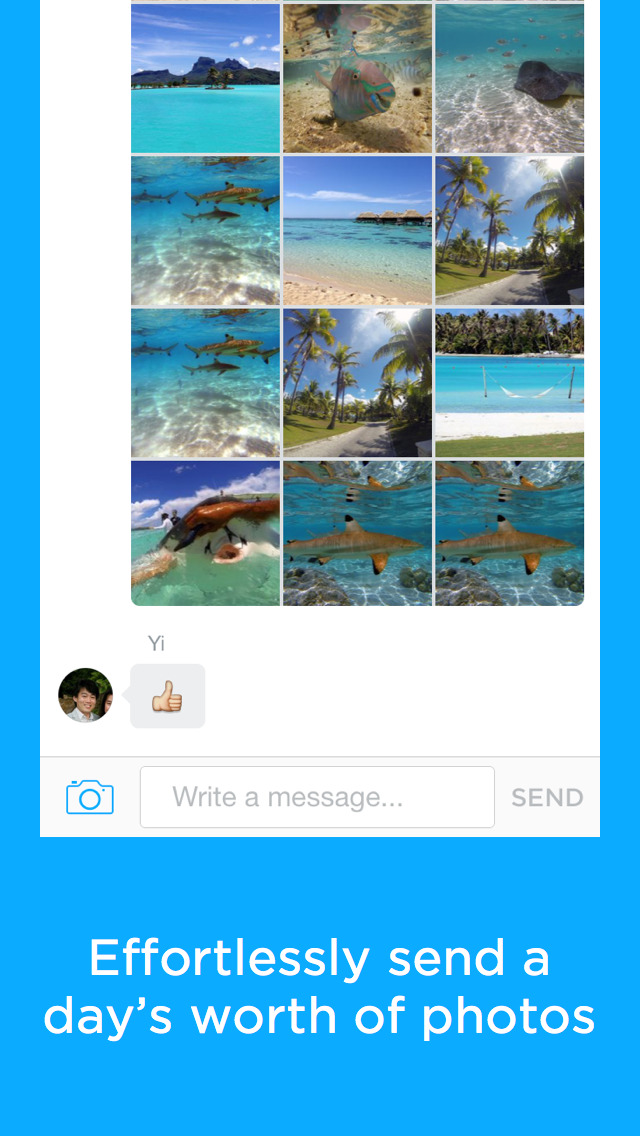 Carousel by Dropbox Screenshot on iOS