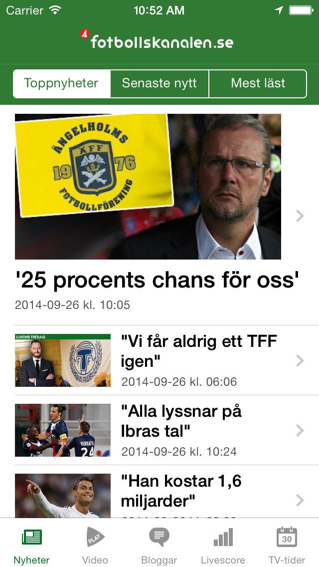 Download Fotbollskanalen App Store softwares - iLFovpNhVxuE  94048ed598b99