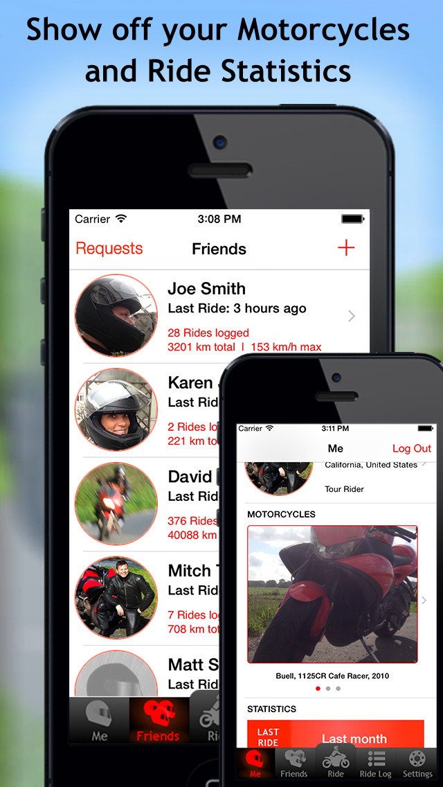 MotoMap - Motorcycle Navigation, Ride Tracking and Scenic Route Touring screenshot-4
