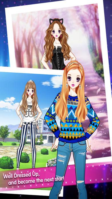 Pure Sweet Girl Screenshot on iOS