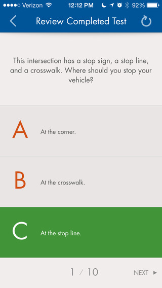 North Carolina Driving Test License - Practice Questions
