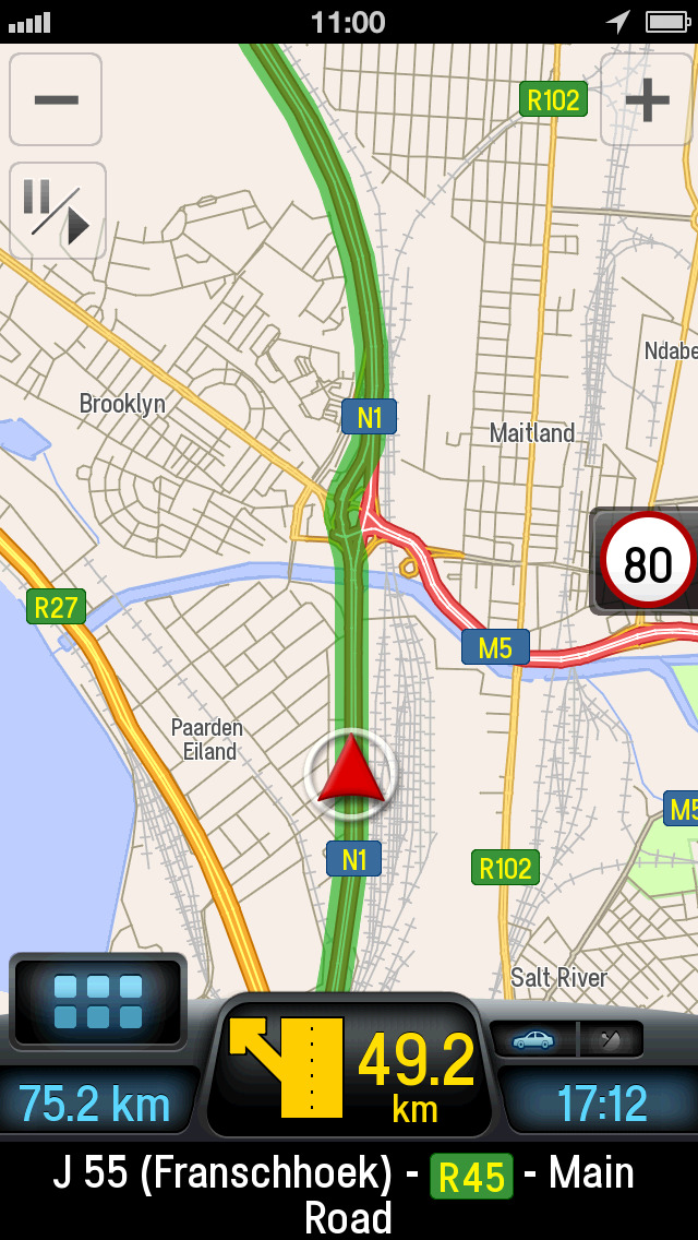 Gps Iphone Software For Driving Directions In South Africa 92