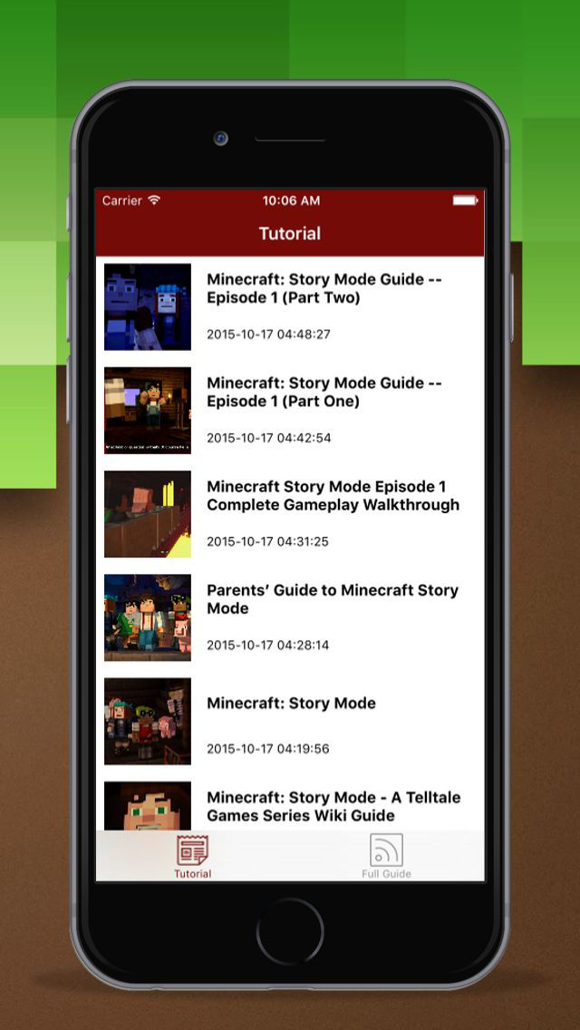 Guide for Minecraft-Story Mode by Tuan Nguyen