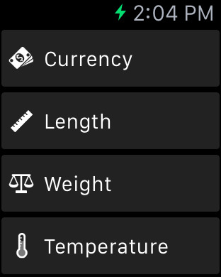 iConvert - Unit and Currency Screenshots
