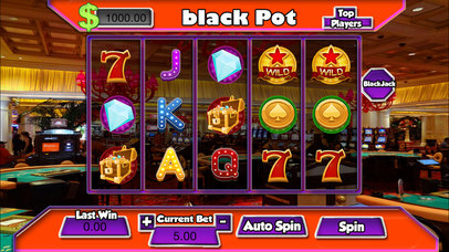 Absolut San Diego Califa  Black Slots Screenshot on iOS