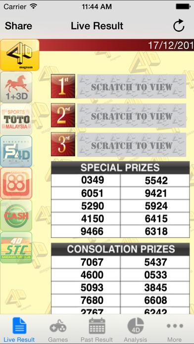 singapore pools 4d consolation prize ▷▷ a c i