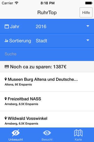 Ruhrtop Karte.Ruhrtop App Fur Iphone Download Fur Ios Aus Bartholomaeus