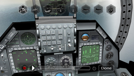 F18 Pilot Simulator Screenshot
