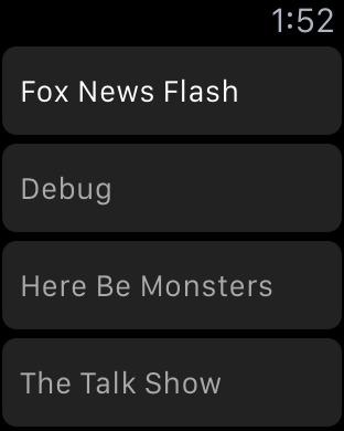 Network - Podcast App Screenshots