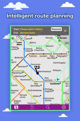 Paris Metro Map App.Paris Transport Map Metro Map And Route Planner Free Iphone
