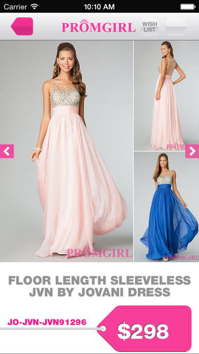 Promgirl Shop Screenshot