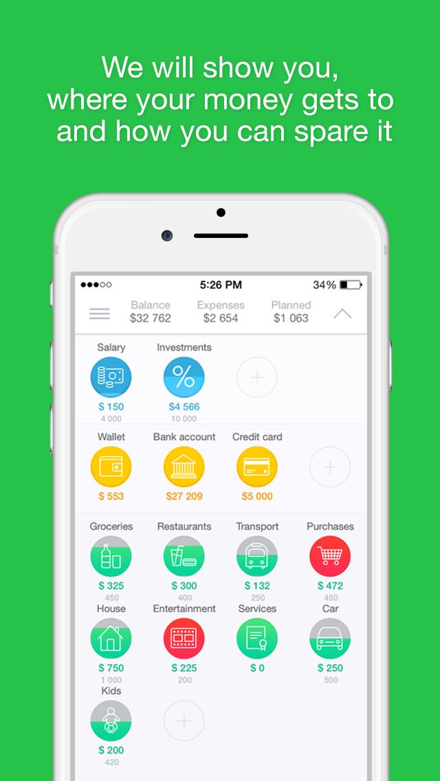 coinkeeper personal finance management budget plan bills and