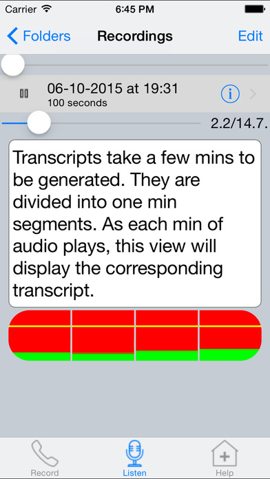 Call Recording Pro (with transcripts) IPA Cracked for iOS